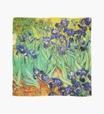 Vincent Van Gogh Purple Irises at St. Remy Scarf