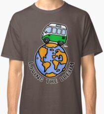 Camiseta clásica Living the dream