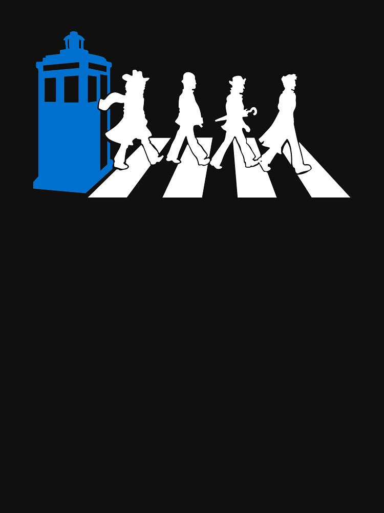 Abbey Road Tardis Doctor Who by ModelingZippy