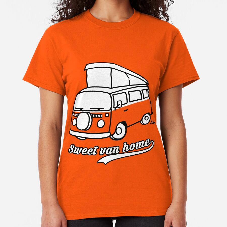 Sweet van home Camiseta clásica