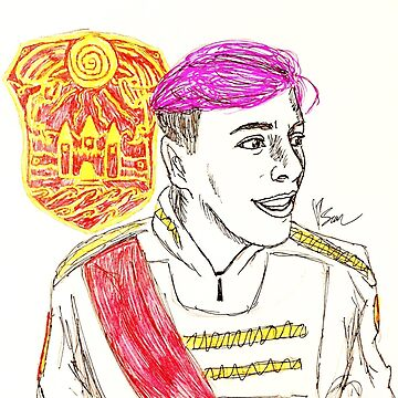 Prince Roman with Logo- Ink by lesamleq