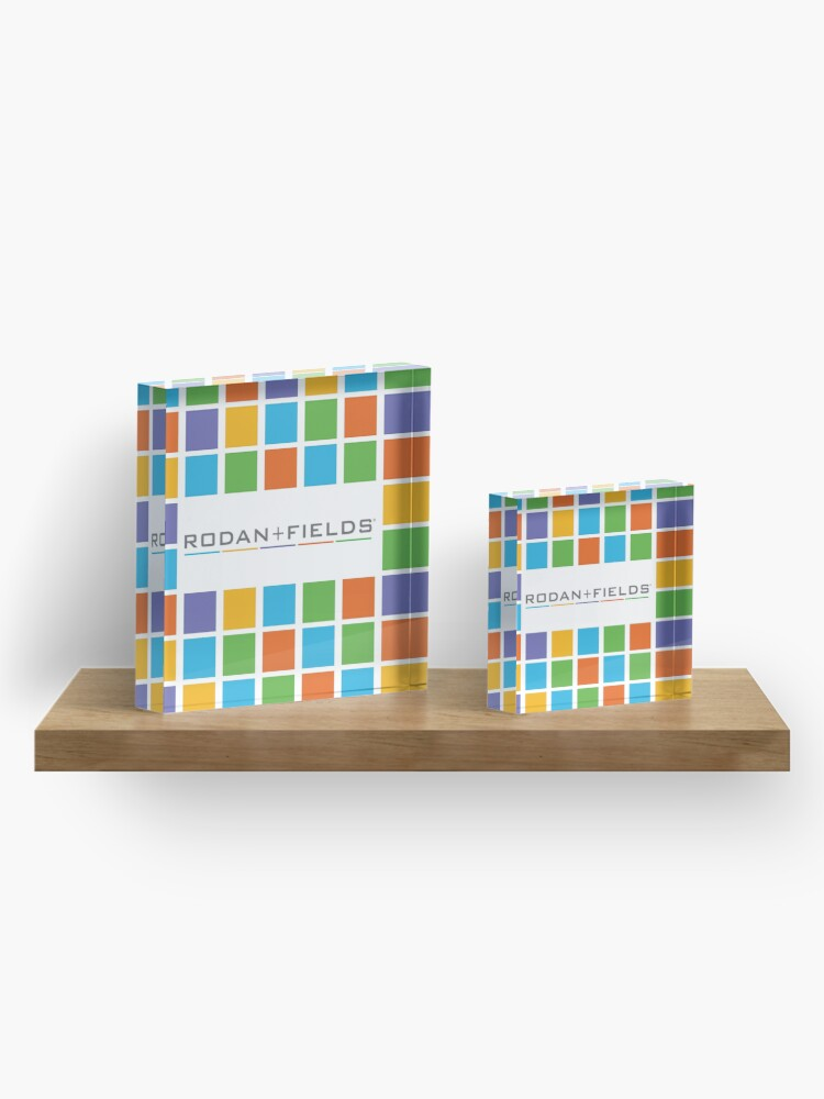 Alternate view of Rodan and Fields Blocks Acrylic Block