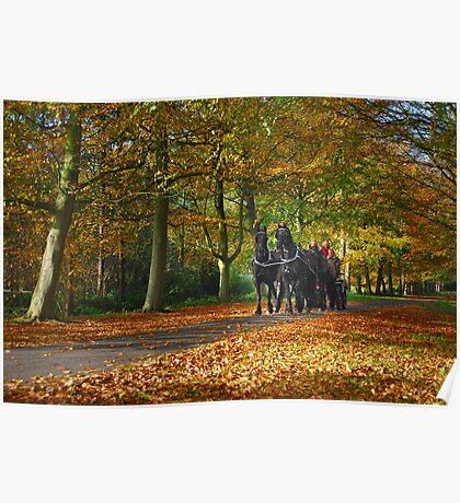 Autumn Ride Poster