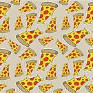 Pizza Pattern by geothebio