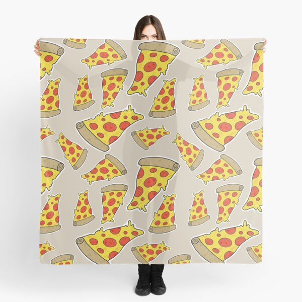 Pizza Pattern Scarf