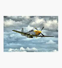 P51 Mustang - Ferocious Frankie Photographic Print