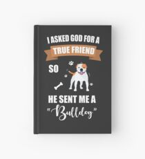 Bulldog Puppy Dog Owner Gifts Hardcover Journal