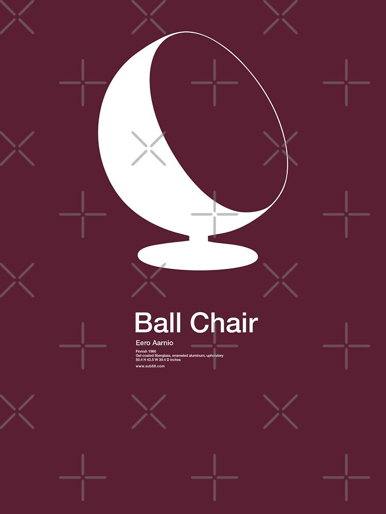 Ball Chair /// Tee shirt by sub88