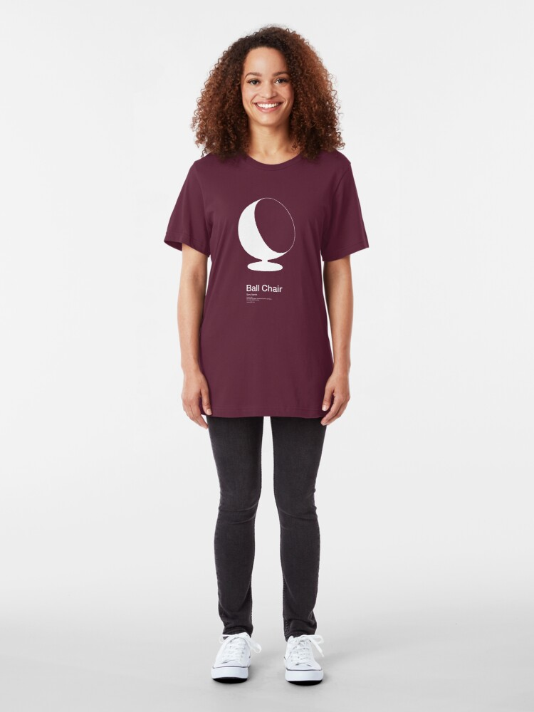 Alternate view of Ball Chair /// Tee shirt Slim Fit T-Shirt