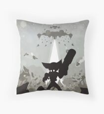 Ratchet and Clank - Showdown Throw Pillow