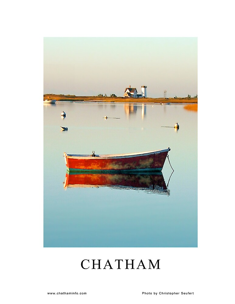 2009 Chatham Chamber of Commerce Poster by Christopher Seufert
