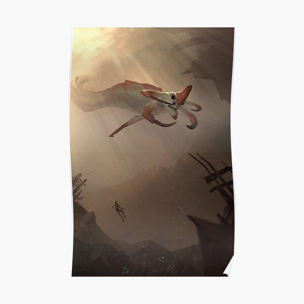 Subnautica - Reaper Leviathan Póster