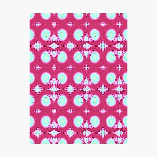 Pink Blossom Blanket Photographic Print