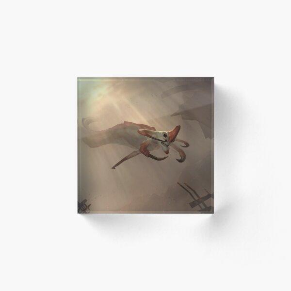 Subnautica - Reaper Leviathan Acrylic Block