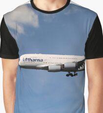 Lufthansa Airbus A380-841 Graphic T-Shirt