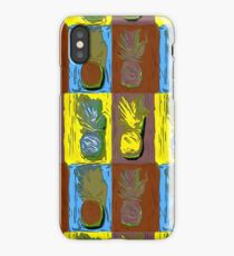 POP ART PINEAPPLES | FENCE ART-BY JANE HOLLOWAY iPhone Case