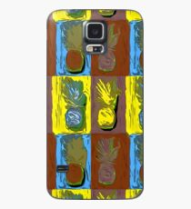 POP ART PINEAPPLES | FENCE ART-BY JANE HOLLOWAY Case/Skin for Samsung Galaxy