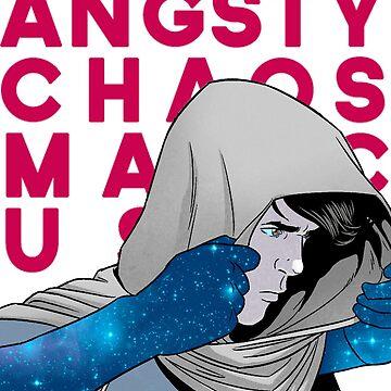 angsty chaos magic user by novakstiels