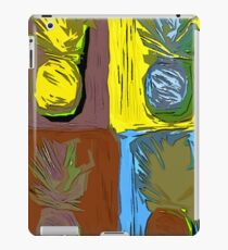 POP ART PINEAPPLES | FENCE ART-BY JANE HOLLOWAY iPad Case/Skin