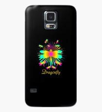 Cute Unique Rainbow Trendy Dragonfly Gift  Case/Skin for Samsung Galaxy