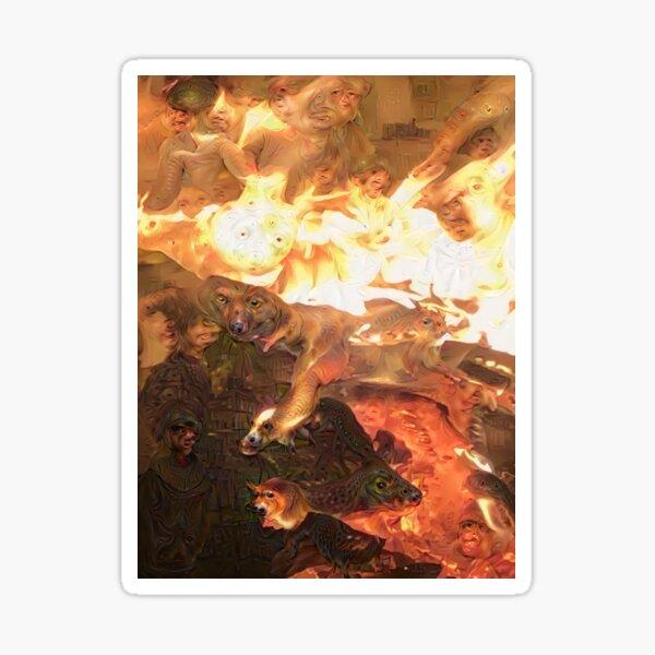 Flame Dreams 1 Sticker