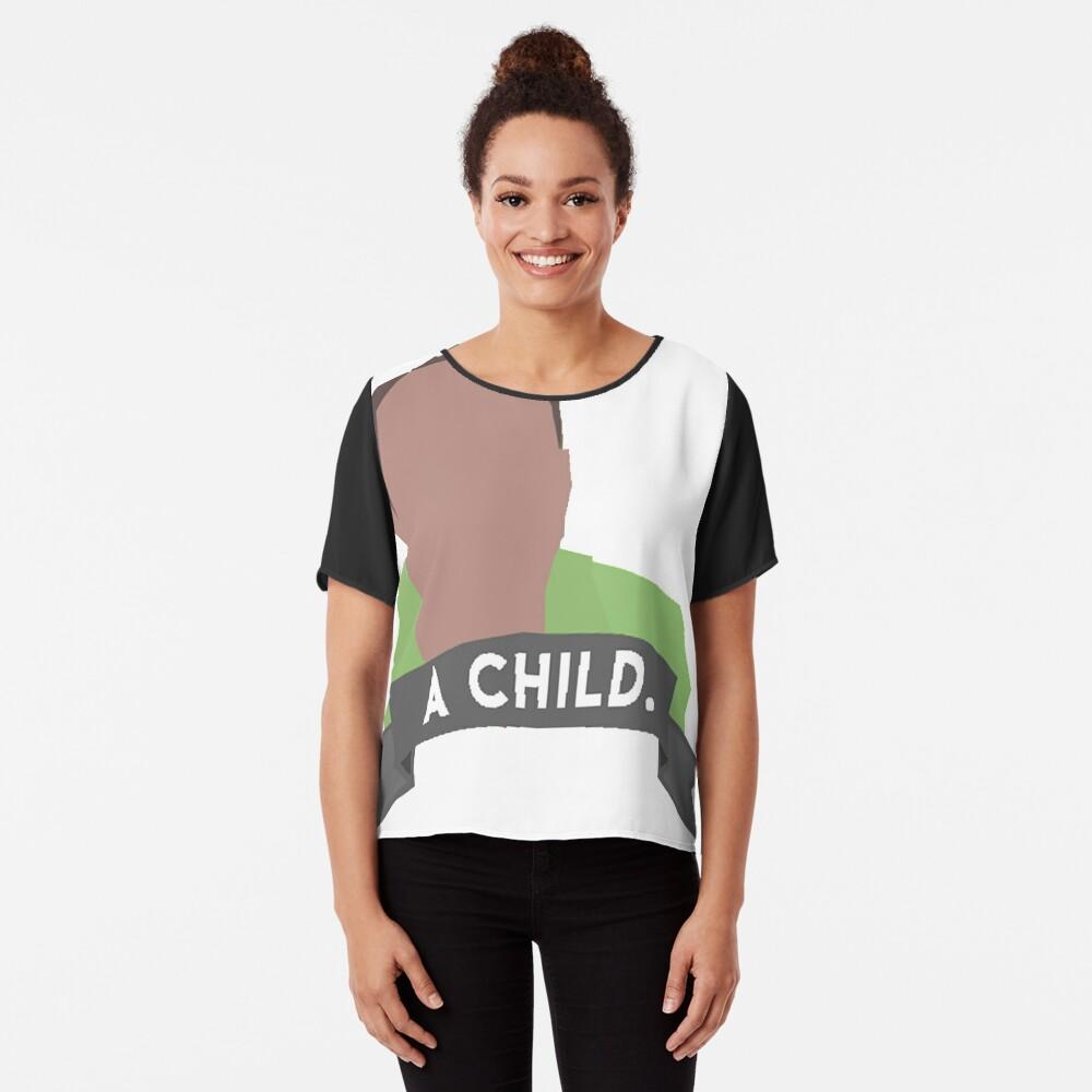 Vine Reference - Ein Kind Chiffon Top