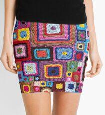 cozy crochet Mini Skirt