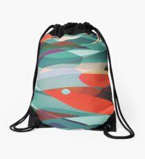 Red Bird Drawstring Bag