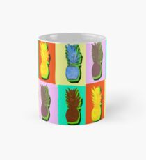 LIMITED EDITION PINEAPPLE POP ART -THE FAB  4- JANE HOLLOWAY  Mug