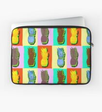LIMITED EDITION PINEAPPLE POP ART -THE FAB  4- JANE HOLLOWAY  Laptop Sleeve