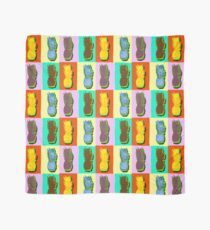 LIMITED EDITION PINEAPPLE POP ART -THE FAB  4- JANE HOLLOWAY  Scarf
