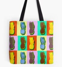 LIMITED EDITION PINEAPPLE POP ART -THE FAB  4- JANE HOLLOWAY  Tote Bag