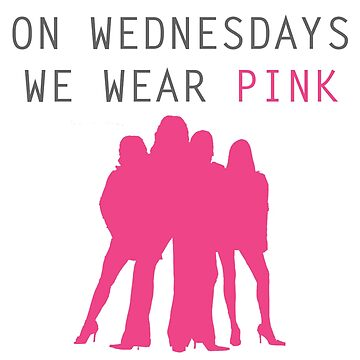 On Wednesdays we wear pink- Mean Girls by cathag