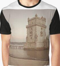 Belém Tower Lisbon Graphic T-Shirt