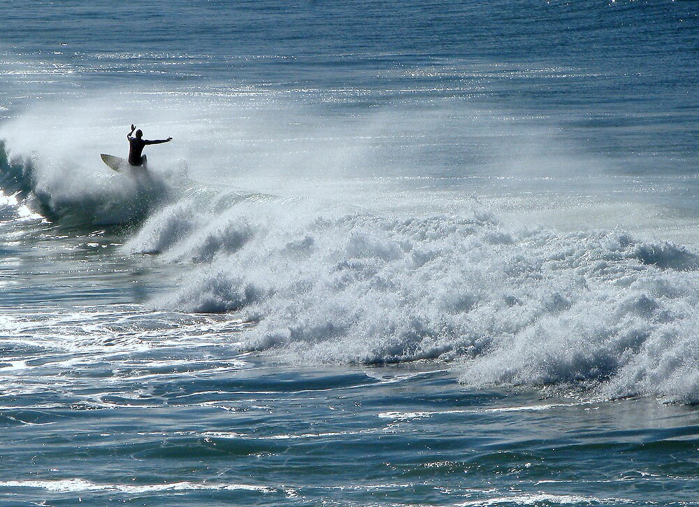 Surfing at Bondi  by TheSpaniard