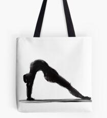 Yoga illustration Tote Bag