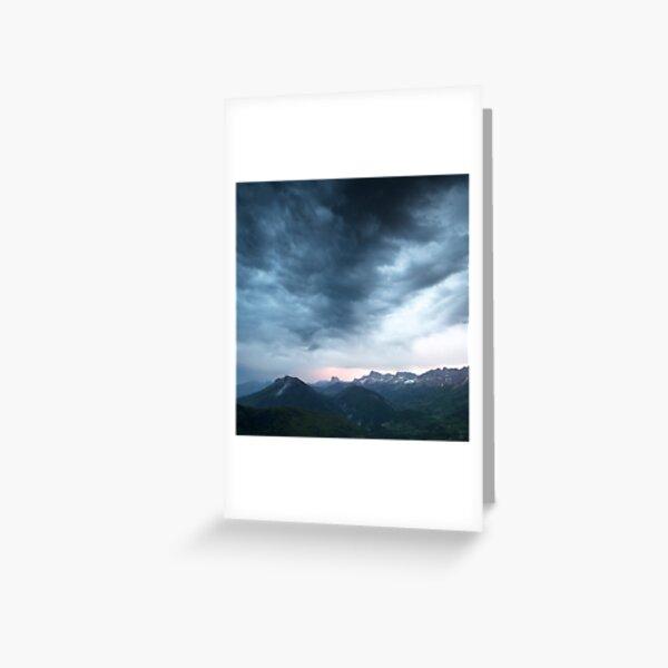 Le Mont-Aiguille Carte de vœux
