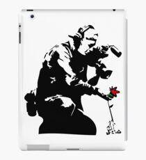 Banksy Flower Photographer iPad Case/Skin