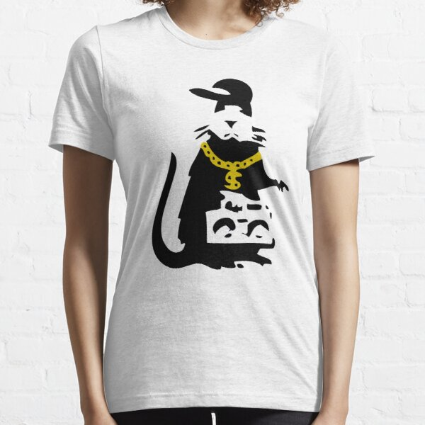 Banksy Gangsta Rat  Essential T-Shirt