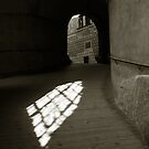 Krumlov Castle Light by ragman