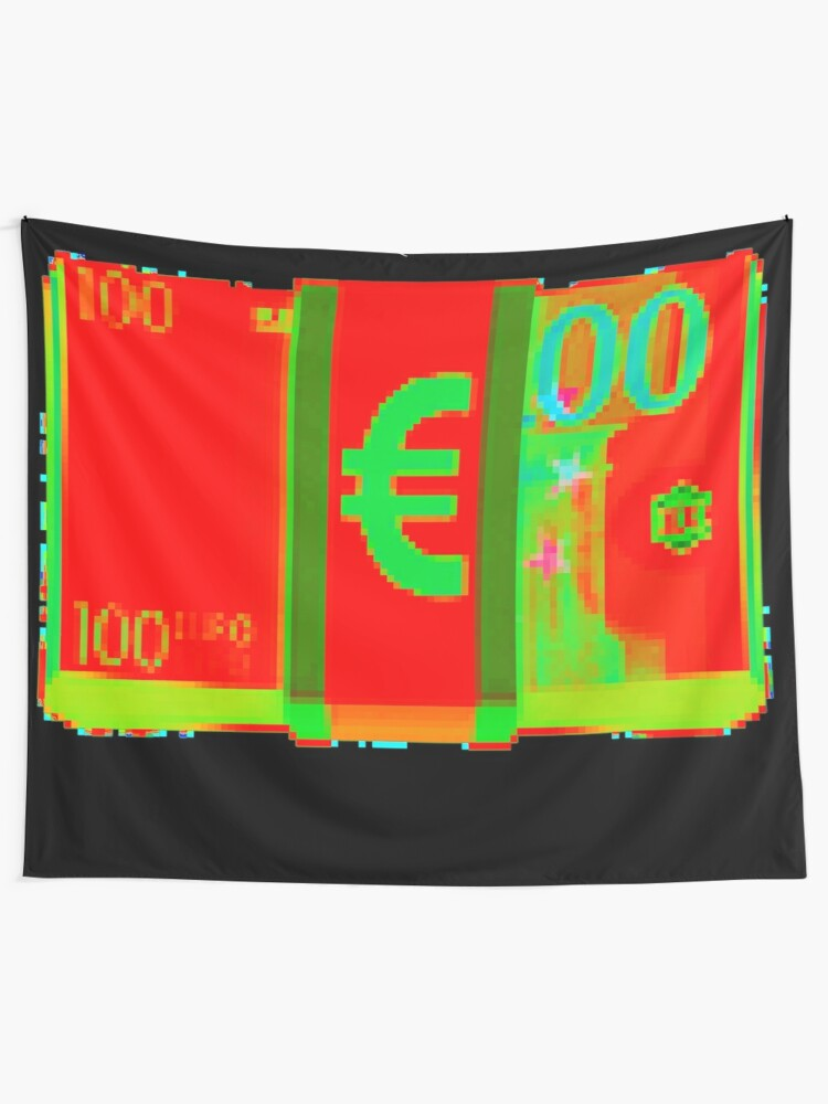 Alternate view of € DDD 8 by RootCat Tapestry