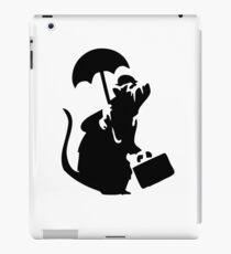 Banksy Upper Class Rat iPad Case/Skin