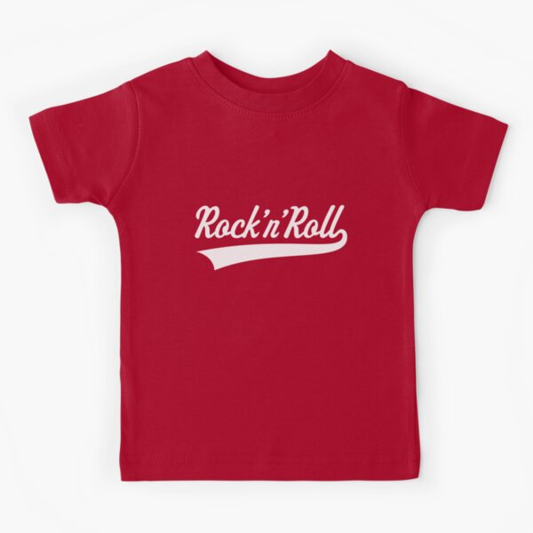 Rock 'n' Roll (blanco) Camiseta para niños