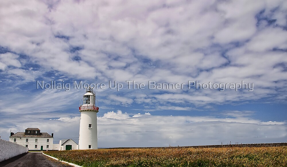 loop head lighthouse, county clare, ireland by Noel Moore Up The Banner Photography