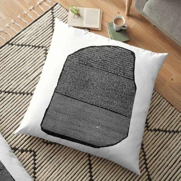 Rosetta Stone Floor Pillow