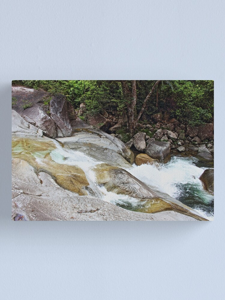 Alternate view of Flow Canvas Print