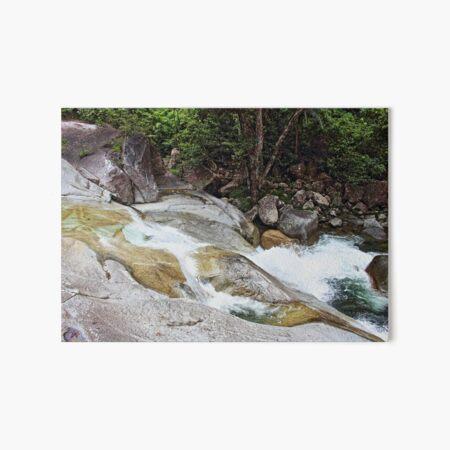Flow Art Board Print
