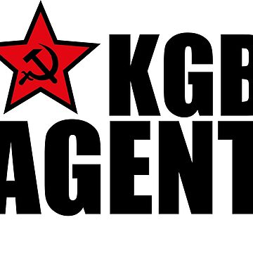KGB agent star hammer sickle by Margarita-Art