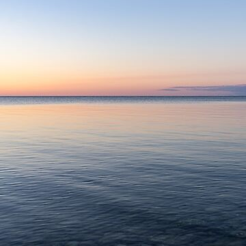 Silky and Transparent - Dawn Gradient on the Waterfront by GeorgiaM