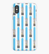 Blue Lightsaber iPhone Case